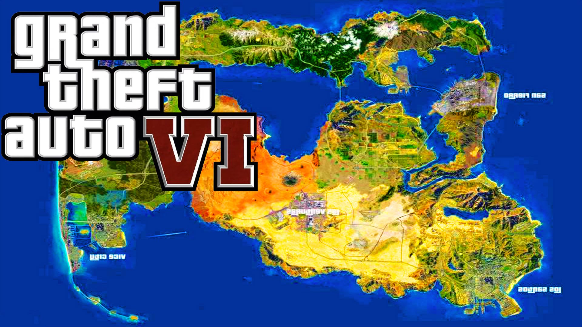 Gta 6 Map Of America.Here Is Where Gta Vi May Be Set Joyscribe