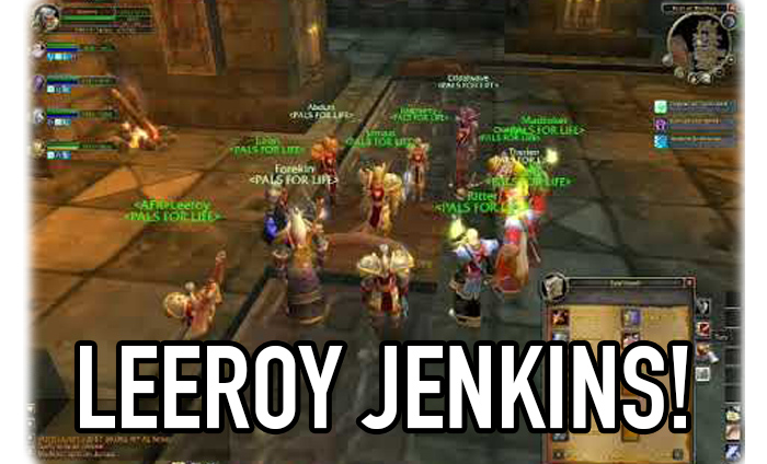 The Leeroy Jenkins Meme Is Actually Completely Fake And We All
