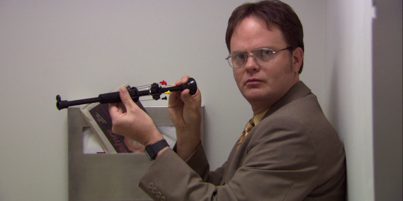 Dwight Schrute blowgun The Office