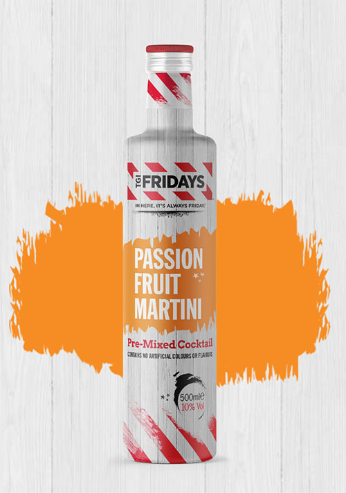 Tgi Friday S 6 Passion Fruit Martini In A Bottle Is The Star Of The Minibar