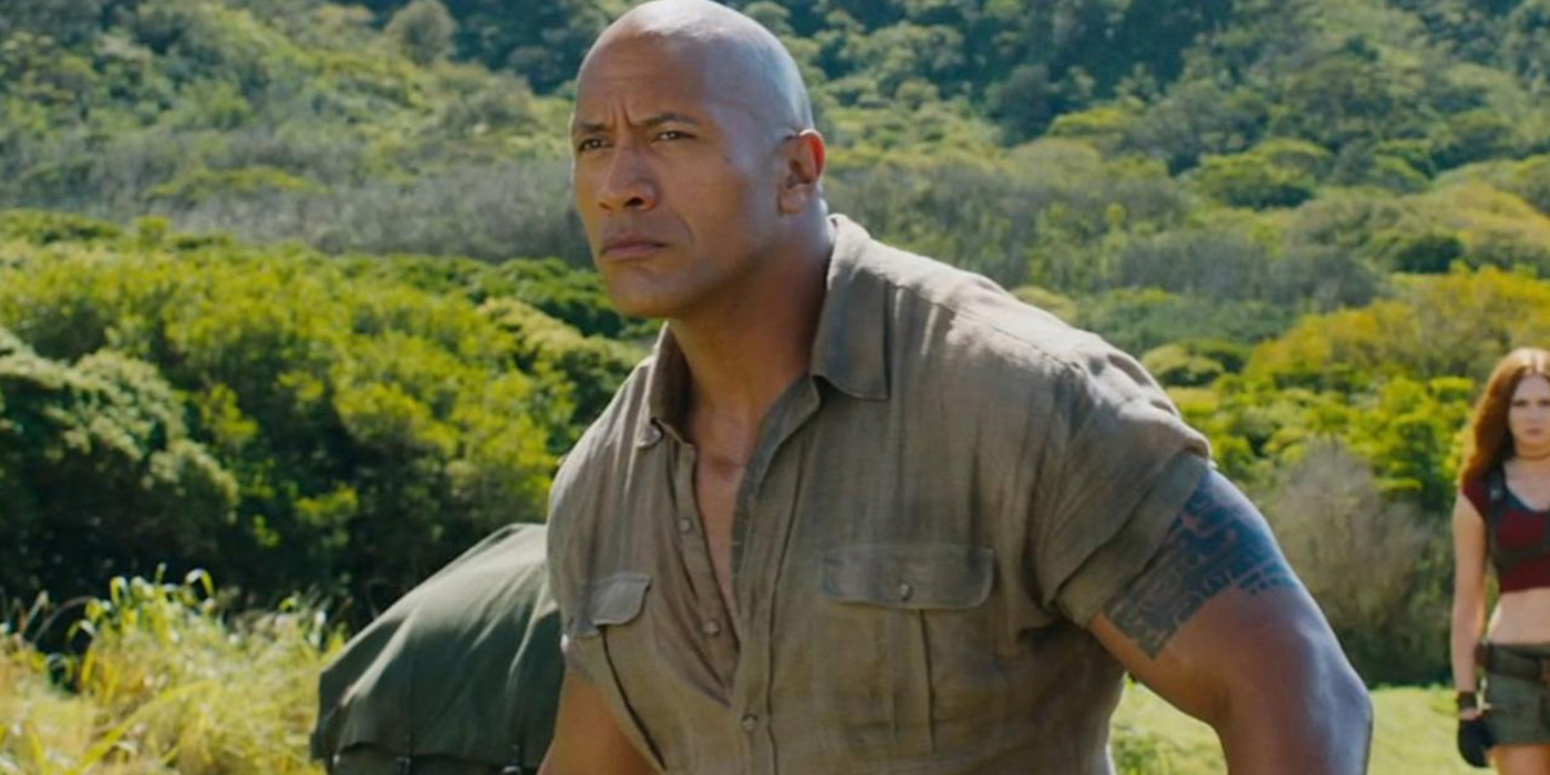 The Rock Jumanji- Welcome to the Jungle