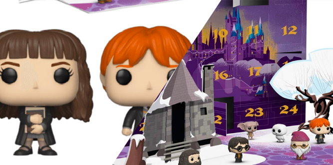 Harry Potter Advent Calendar.There S A Funko Harry Potter Advent Calendar With Tiny Figures