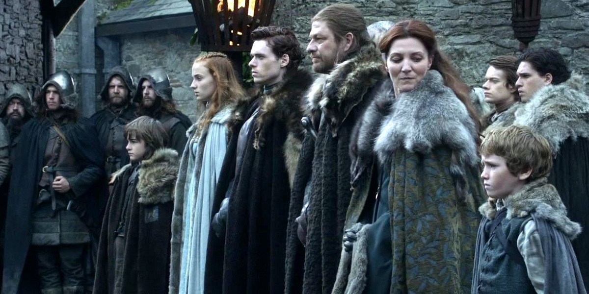 Stark Family Game of Thrones pilot