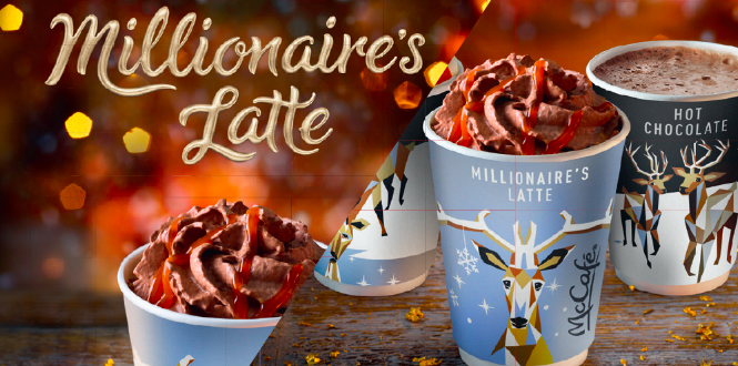Mcdonalds Launches Millionaire Shortbread Latte For Christmas