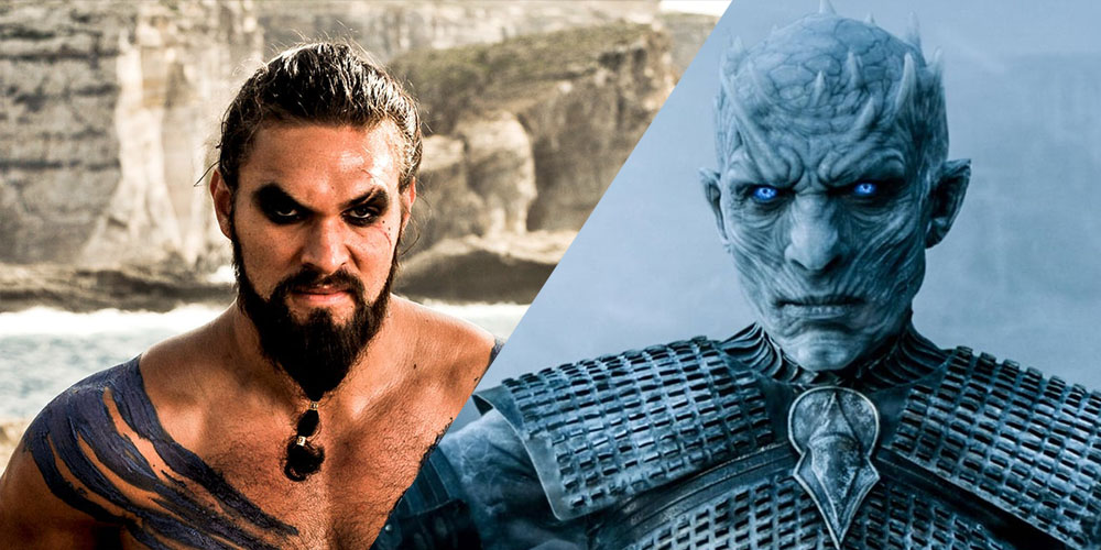 Image result for khal drogo returns to game of thrones