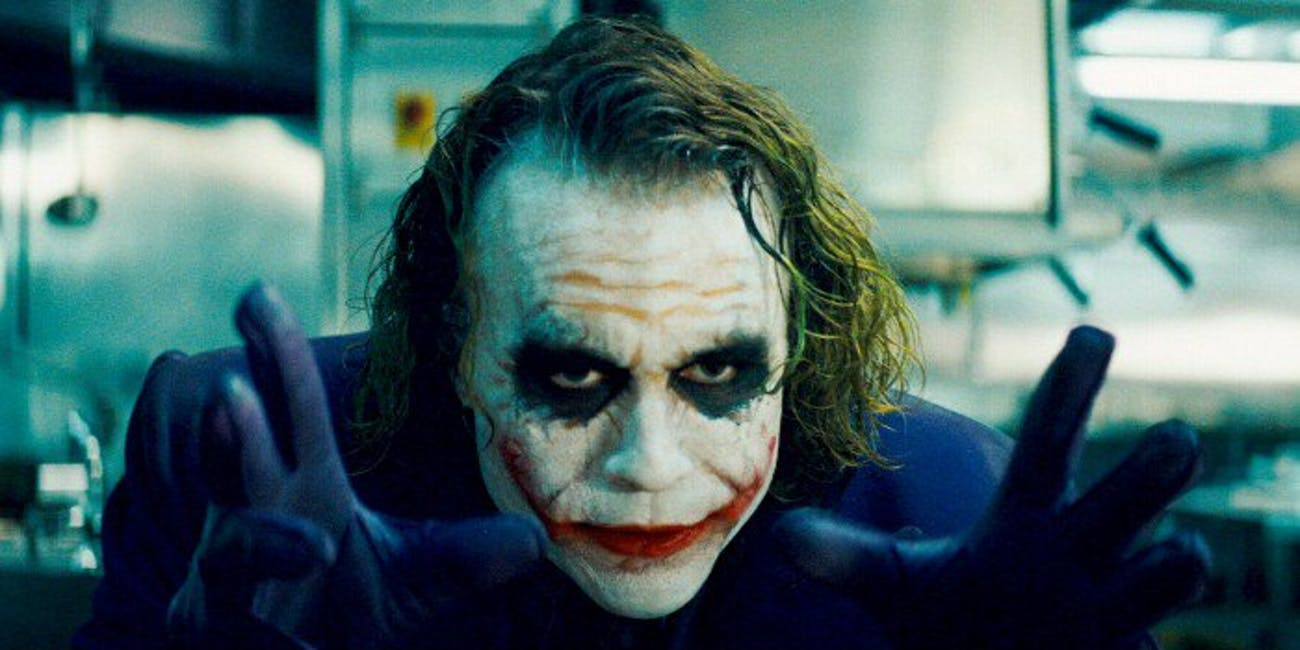 Heath Ledger Joker The Dark Knight 2008