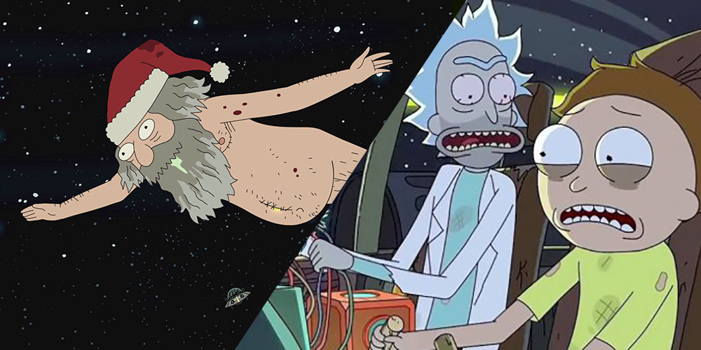 Rick And Morty Christmas.Ho Ho Whoah Rick And Morty Might Have A Christmas Special