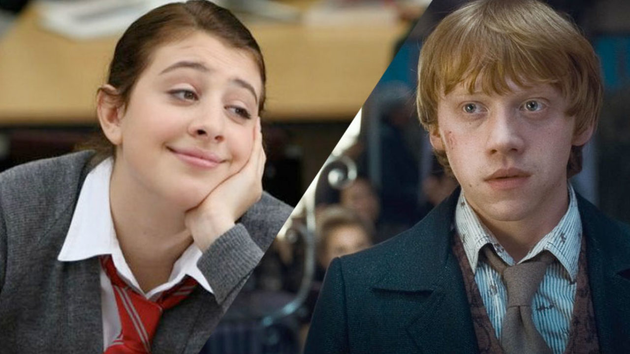 Angus Thongs And Perfect Snogging Cast georgia from 'angus, thongs' is dating rupert grint and no