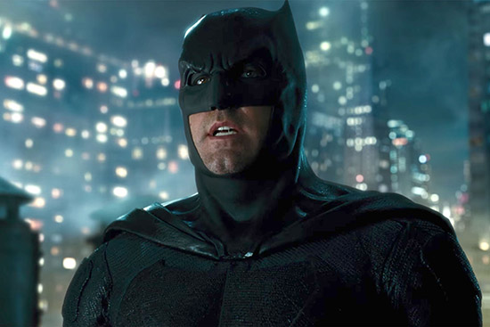 Ben Affleck Batman in Justice League