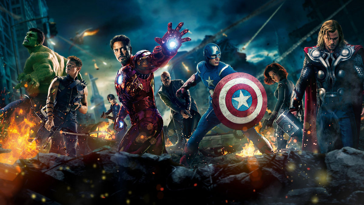 Original Avengers 2012