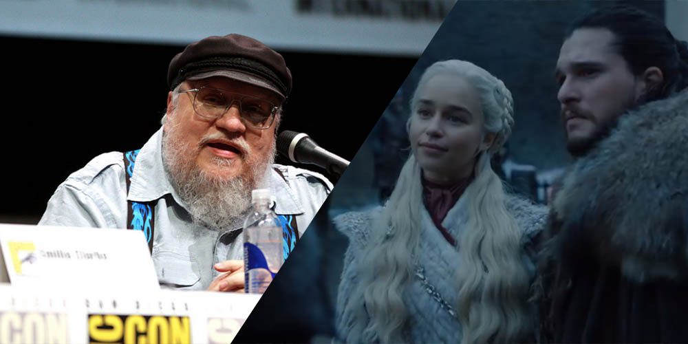 George R.R. Martin Game of Thrones Cameo