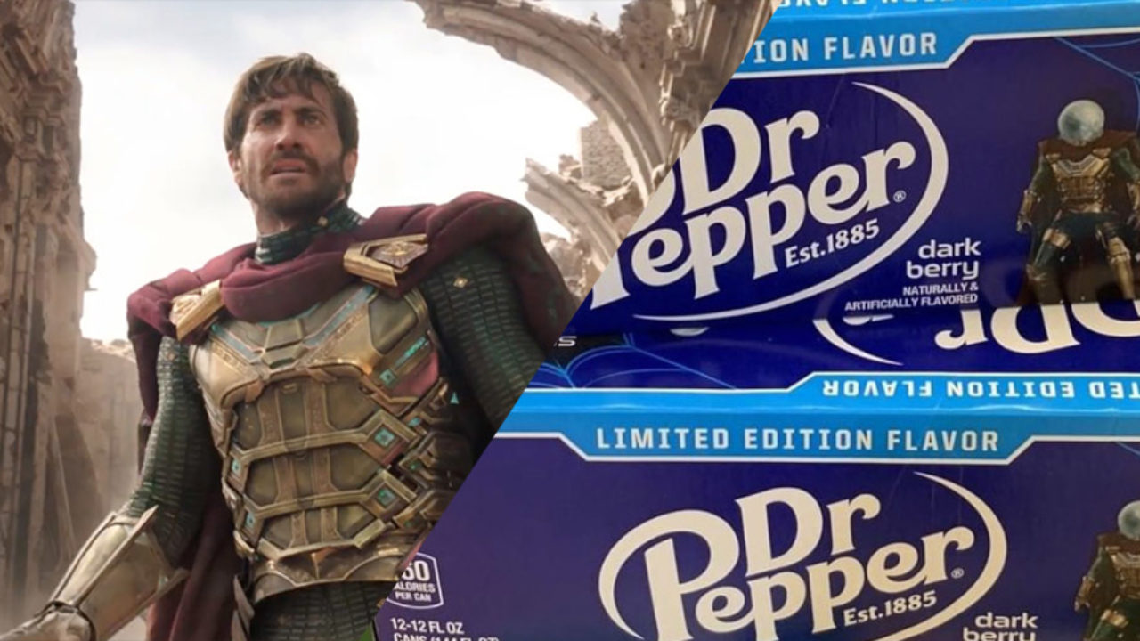 Limited Edition Dark Berry Dr Pepper 12pack Spider Man Far From Home